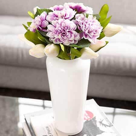 Maceteros, flores y plantas